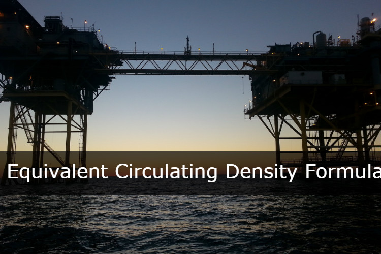 Equivalent Circulating Density (ECD) in ppg - Drilling