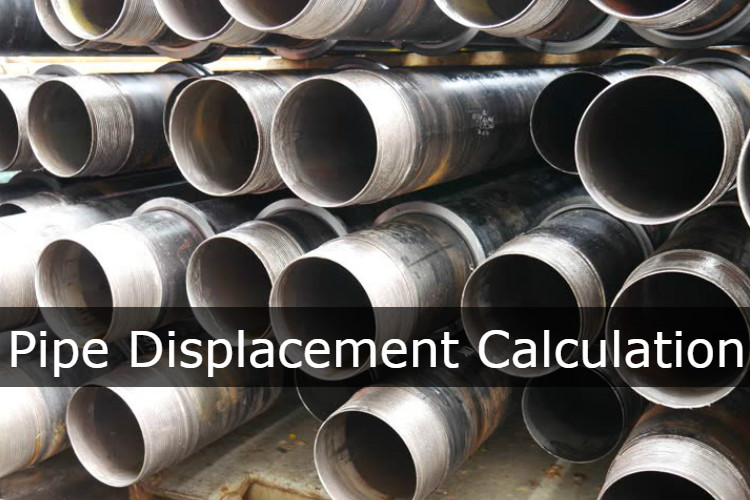 Pipe Displacement Calculation - Drilling Formulas and