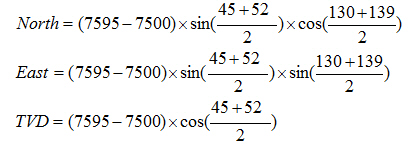 angle averaging method number