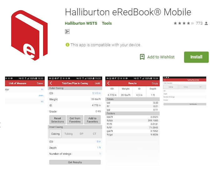 Halliburton Red Book Electronic Version - Drilling Formulas and