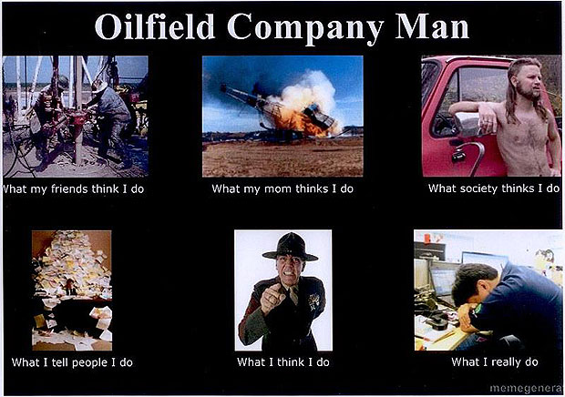 What My Friends Think I Do - Company Man