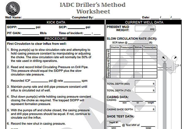 Driller's-Method-–-Metric-units