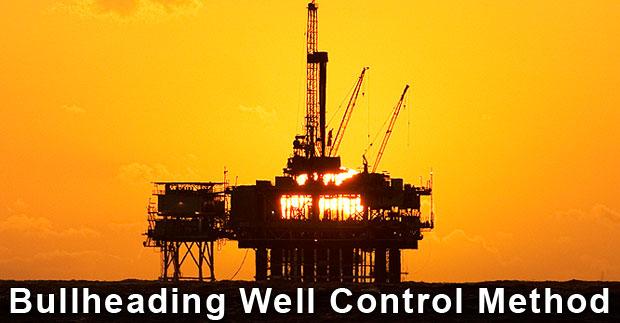 Bullheading Well Control Method