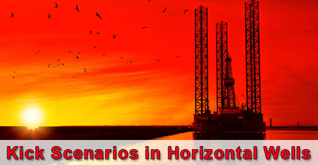 Kick Scenarios in Horizontal Wells For Well Control