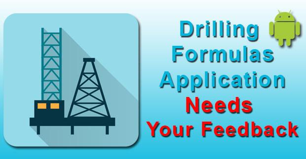 drilling-formula-need-feedback