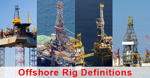 Definitions of Various Offshore Drilling Rig Types and