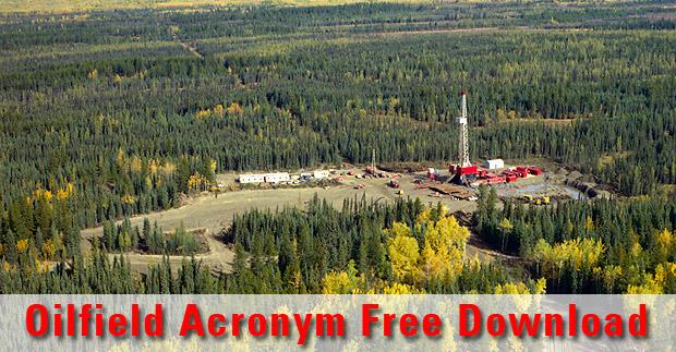 Oilfield Acronym Spreadsheet