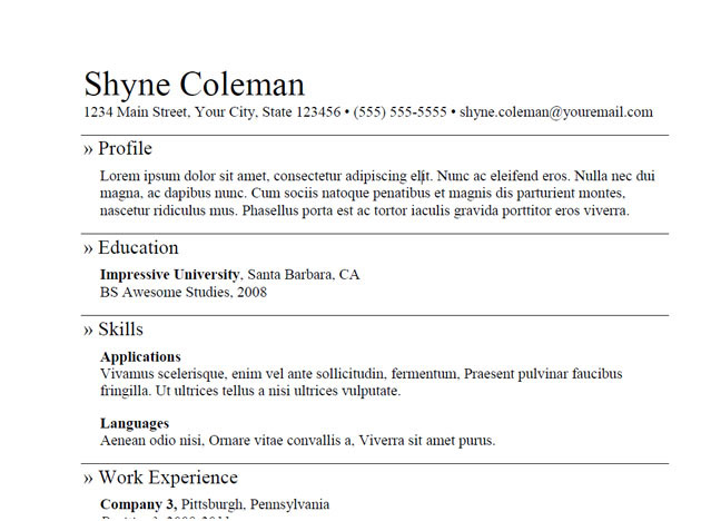 5 Useful Oilfield Resume Templates‎