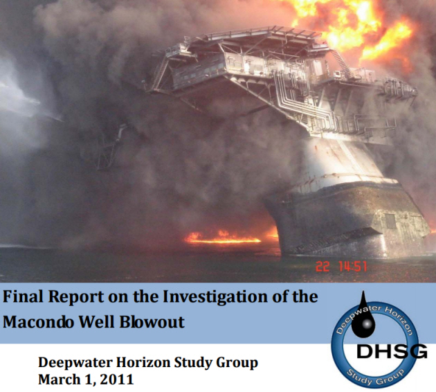 Figure 4 - Final Report on the Investigation of the Macondo Well Blowout