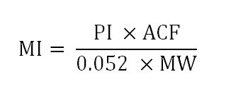MI equation