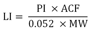 LI calculation