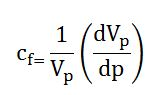 rock compressibility equation