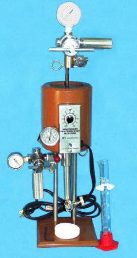 Figure 2 - HTHP fluid loss test kit