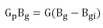 equation 1 Gp