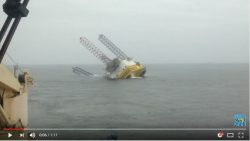 Perro Negro 6 Jack Up Rig Capsized and Sank - Oilfield Safety