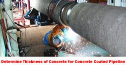determine-thickness-of-concrete-for-concrete-coated-pipeline