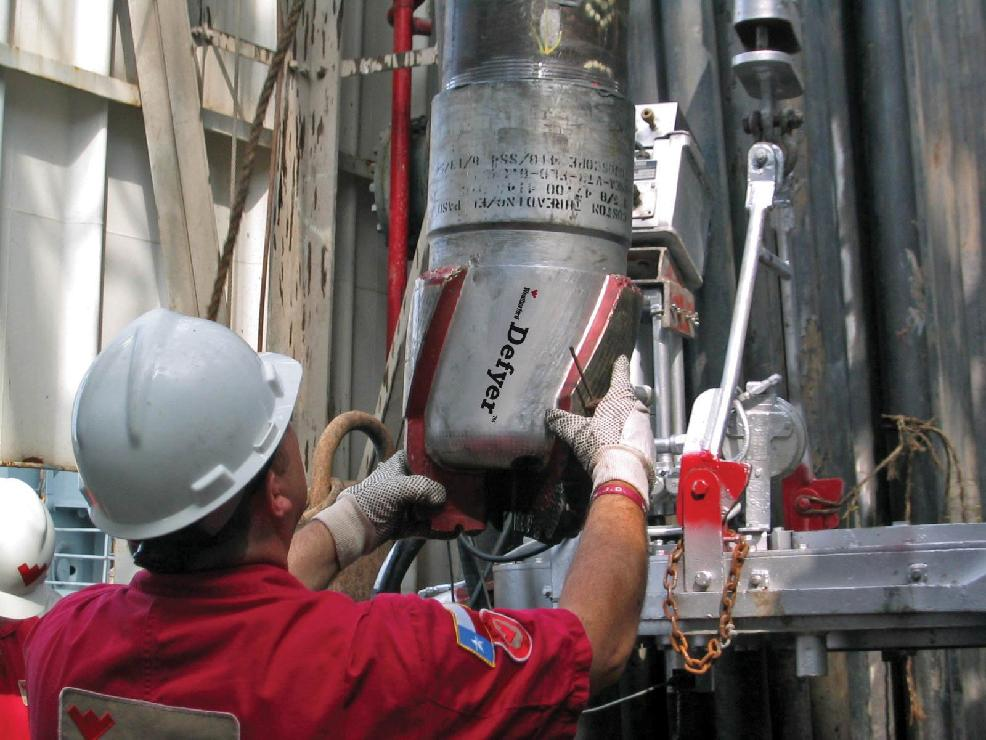 Figure 1- Casing while Drilling Operation (Courtesy of Weatherford)