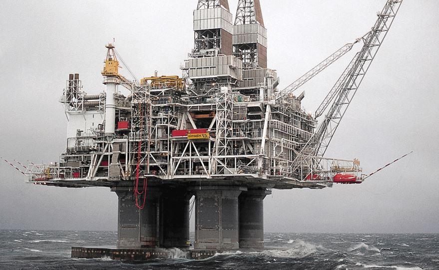 Hibernia Platform (Courtesy of Exxon Mobil)