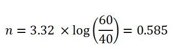 example 1-determine n