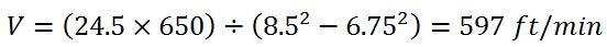 example 5 annular velocity around drill collar