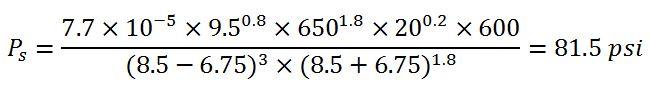 example 6 determine pressure loss around drill collar