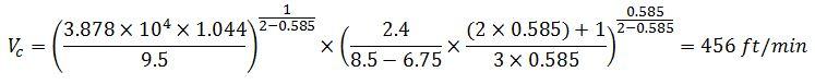 example 6 determine vc around drill collar