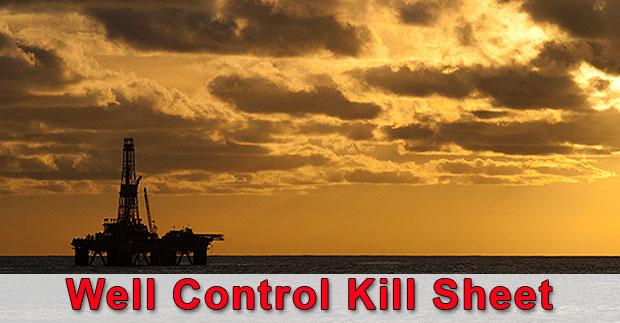 well-control-kill-sheet