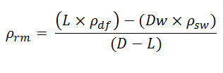 Riser Margin - equation