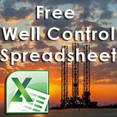 free well control spreadsheet