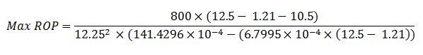 quation -max rop result