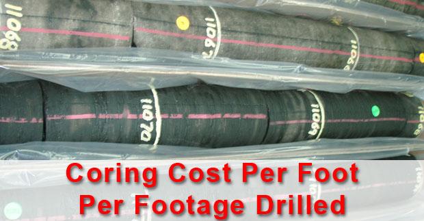 coring-cost-per-foogate-drilled