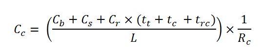 coring cost per foot formula