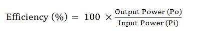 engine efficiency formula
