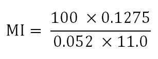 MI equation 2