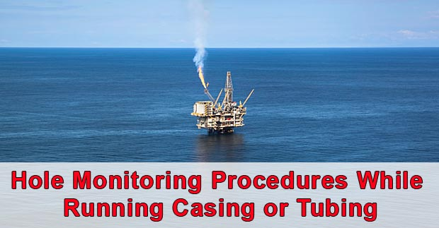 hole monitoring while running casing