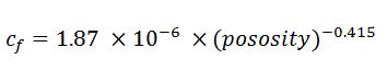 rock compressibility equation 2