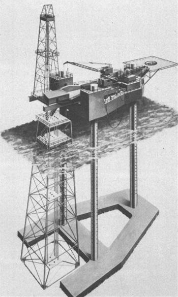 Figure 1 - Mat Footing Jack Up Rig