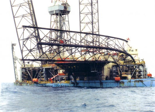 Maersk Victory Punch Through Incident in 1996